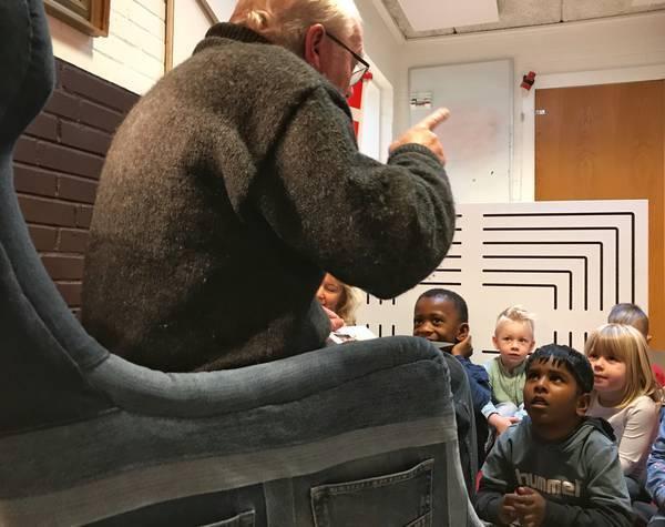 Projekt Fortællestole og Odense Kommune støtter Fortællegaven